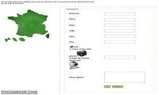 Annonce carte de France