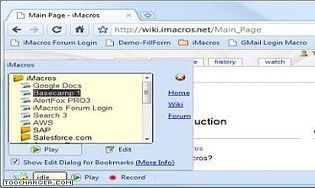 iMacros pour Chrome