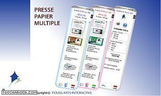 PRESSE PAPIER MULTIPLE