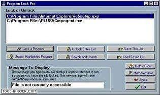 Program Lock Pro