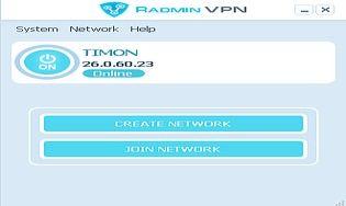 Radmin VPN 1.0.3524