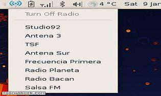 Radio Tray