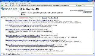 FindinSite-JS Java Servlet website search engine
