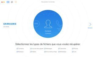 PPhoneRescue pour Android pour Mac