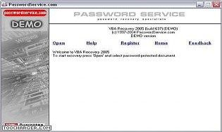 PasswordService Recovery Suite