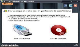 Windows Password Recovery Lastic