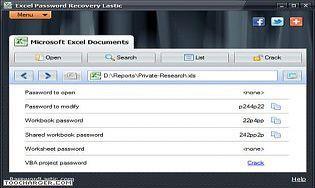 Excel Password Recovery Lastic