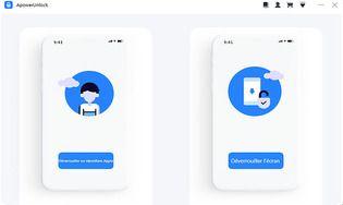 ApowerUnlock - Déverrouiller votre iPhone sans mot de passe