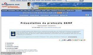 Présentation du protocole SNMP