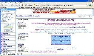 Créer un serveur ftp avec ftp serveur