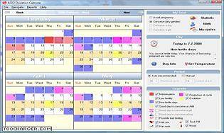 ACIO Ovulation Calendar