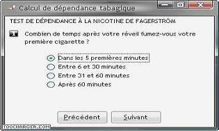 Café dépendance tabagique