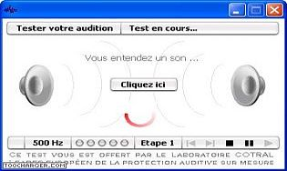 COTRAL Audiotest