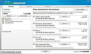 F-Secure Online Backup