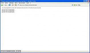 Scanner de port TCP