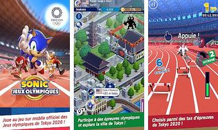 Sonic at the Olympic Games-Tokyo 2020 IOS