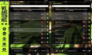 WeAreTennis With BNP Paribas iOS