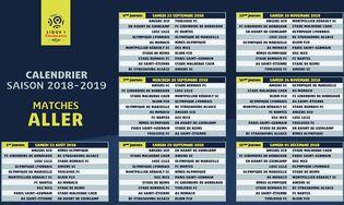 Champions League 2019 Calendrier.Calendrier Officiel Ligue 1 2018 2019 Telecharger