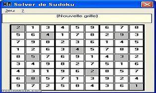 Sudoku Master Solver 2007