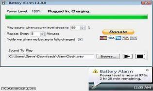 Battery Alarm