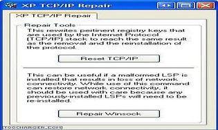 XP TCP/IP Repair