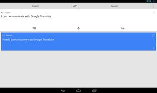 Google Traduction pour iPad