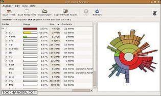 Baobab Disk Usage Analyzer
