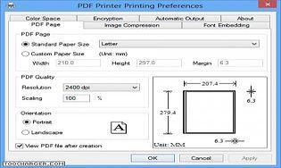 PDF Printer for Windows 10