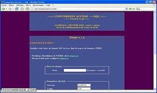 Conversion Access - SQL