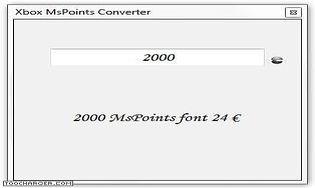 Xbox MsPoints Converter