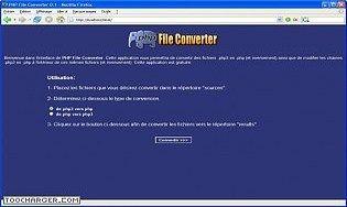 PHP File Converter