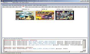 X Corp Infos Serveurs Games List