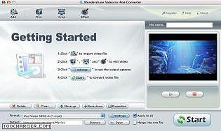 Wondershare Video to iPod Converter for Mac