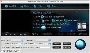 4Videosoft DVD iPhone Convertisseur pour Mac