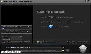 Free BlackBerry Video Converter Factory