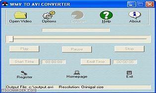WMV to AVI Converter