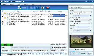 Xilisoft 3GP Vidéo Convertisseur