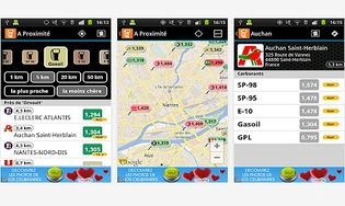 Essence Comparateur Carburant Android