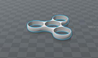 Hand Spinner à imprimer en 3D