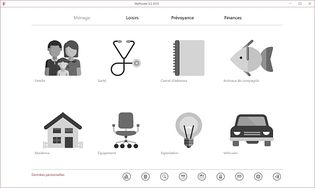 MyPrivate - Logiciel de gestion familiale