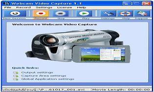 Webcam Video Capture