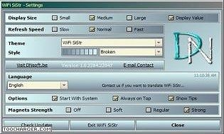 WiFi SiStr