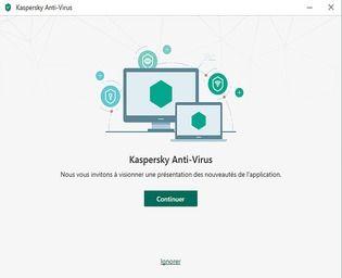 Kaspersky Antivirus 2020 Technical Preview Sécurité & Vie privée