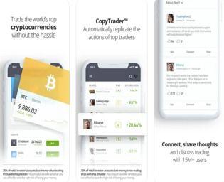 eToro iOS Finances & Entreprise