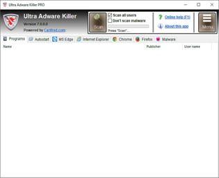 Ultra Adware Killer Utilitaires