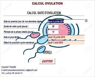 CALCUL_OVULATION Education