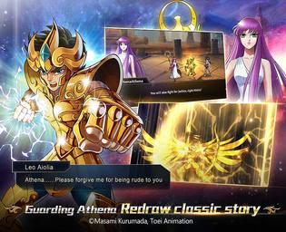 Saint Seiya Galaxy Spirits Android Jeux