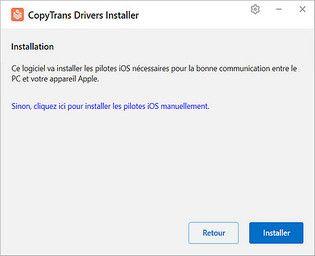 CTDI - CopyTrans Drivers Installer Utilitaires