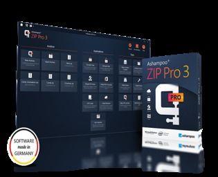 Ashampoo ZIP Pro 3 Utilitaires