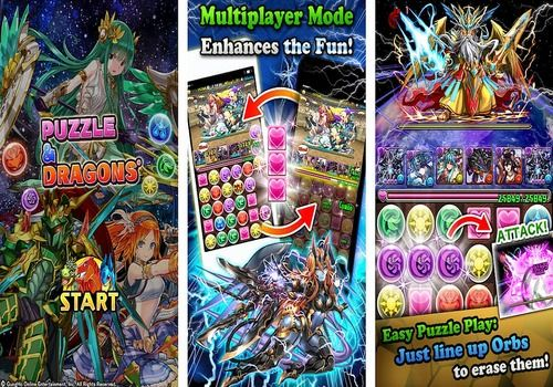 Puzzle And Dragons Android Jeux